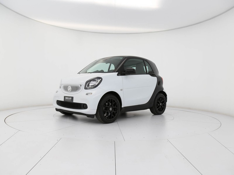 Smart Fortwo 1.0 passion 71cv twinamic benzina bianco