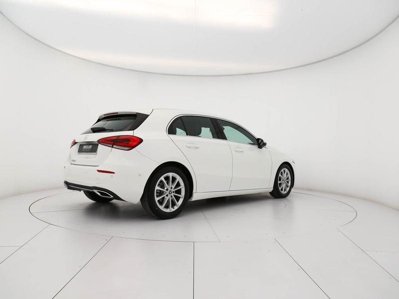 Mercedes Classe A 180 d sport diesel bianco