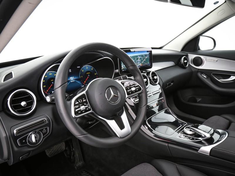 Mercedes Classe C SW sw 220 d premium auto diesel nero