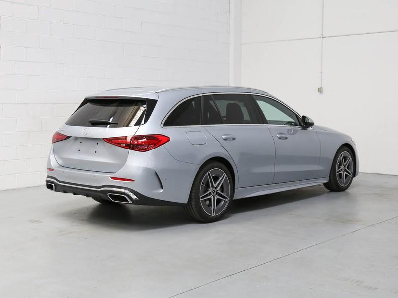 Mercedes Classe C SW 220 d  Mild hybrid  argento