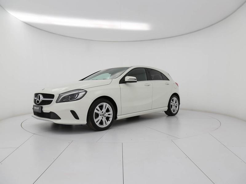 Mercedes Classe A 200 d sport auto my16 diesel bianco