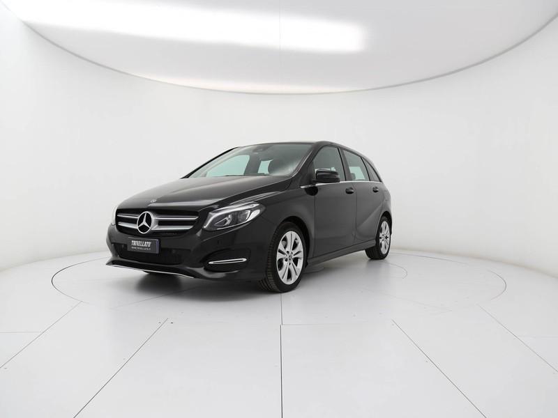 Mercedes Classe B 200 d (cdi) sport auto diesel nero