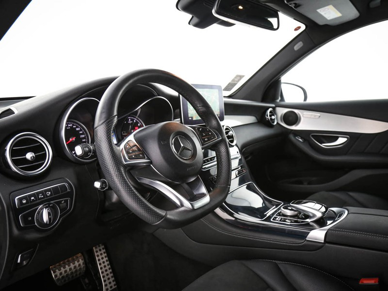 Mercedes GLC 350e premium 4matic auto ibrido argento