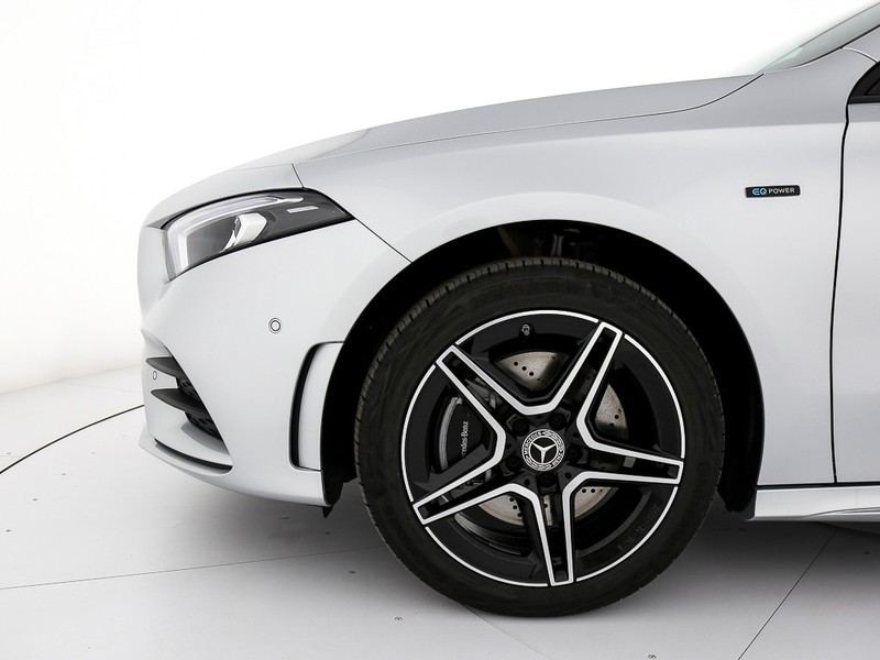 Mercedes Classe A 250 e eq-power premium auto ibrido argento