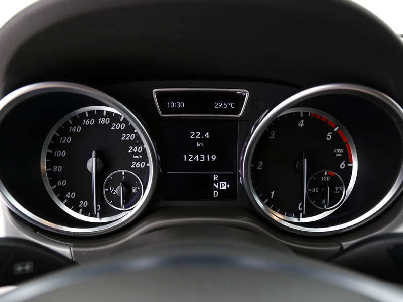 Mercedes Classe M ml 350 bt premium auto diesel nero