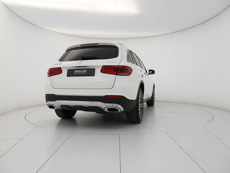 Mercedes GLC 200 d sport 4matic auto diesel bianco