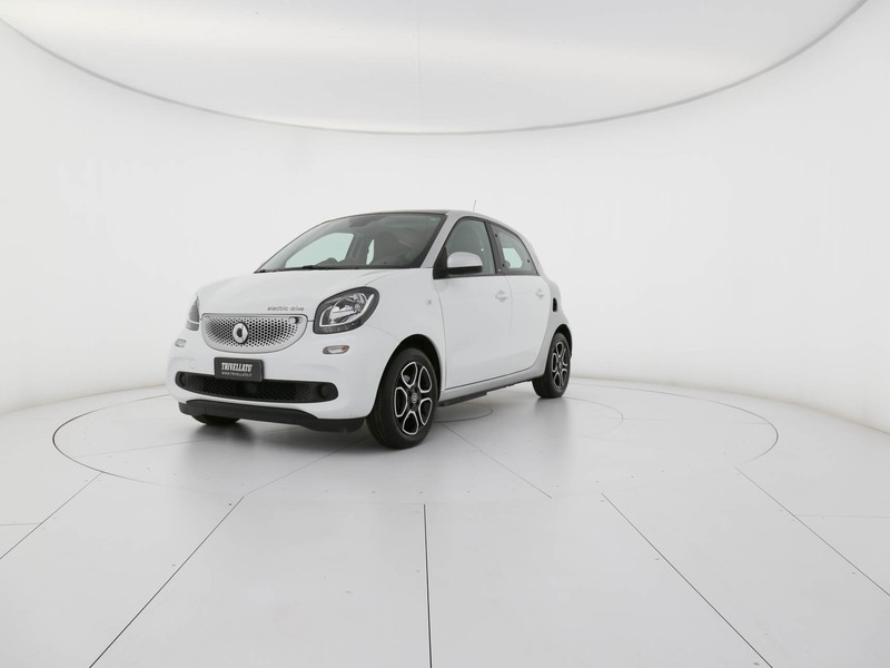 Smart Forfour electric drive passion elettrica bianco
