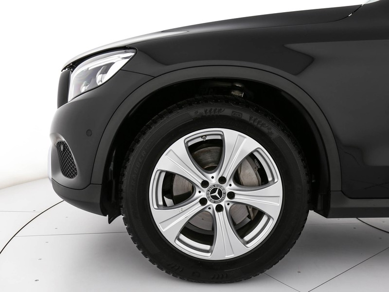 Mercedes GLC Coupè coupe 250 d sport 4matic auto diesel nero