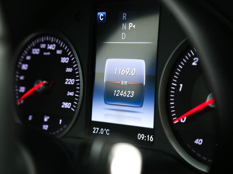Mercedes Classe C SW sw 200 d (bt) sport auto diesel nero