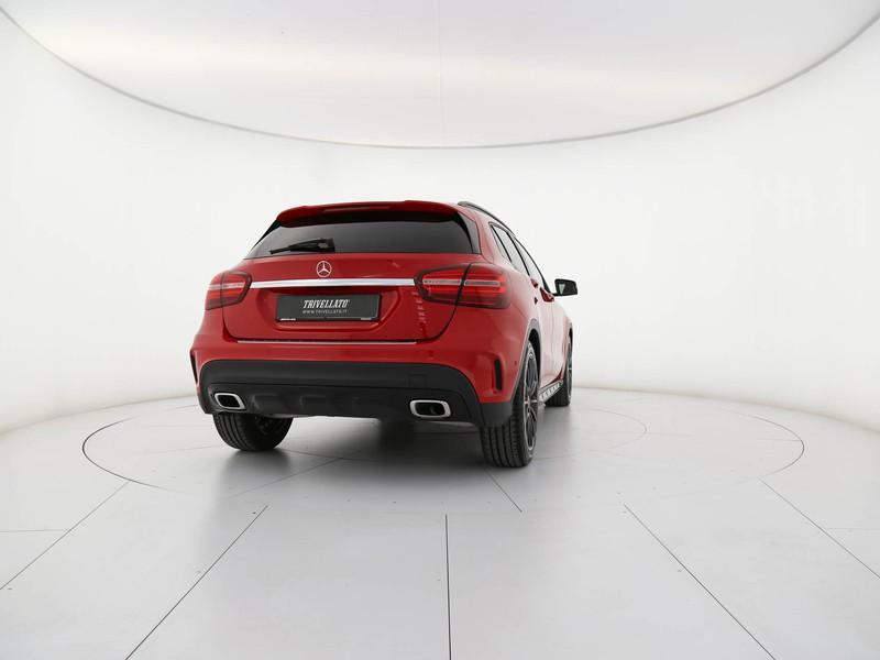 Mercedes GLA 220 d premium auto diesel rosso