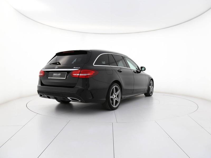 Mercedes Classe C SW sw 250 d (bt) premium 4matic auto diesel nero