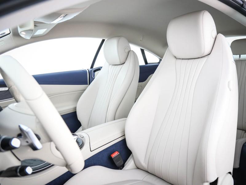 Mercedes Classe E Coupè coupe 220 d amg line 4matic auto diesel blu/azzurro