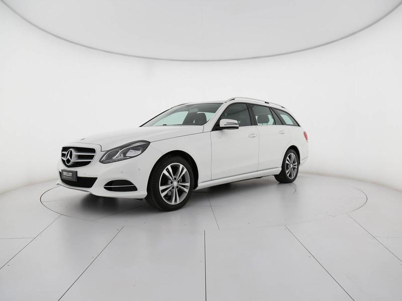 Mercedes Classe E SW sw 220 cdi premium diesel bianco