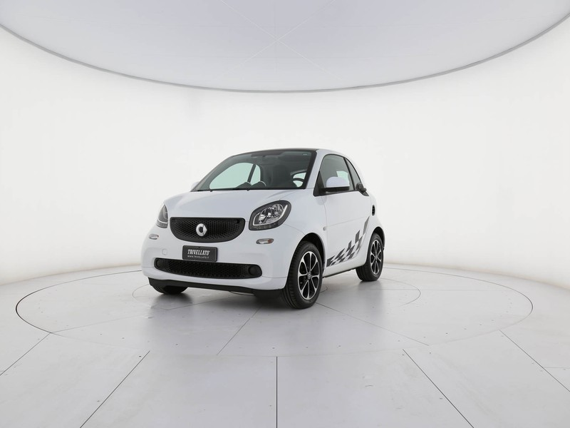 Smart Fortwo 1.0 youngster 71cv twinamic benzina bianco