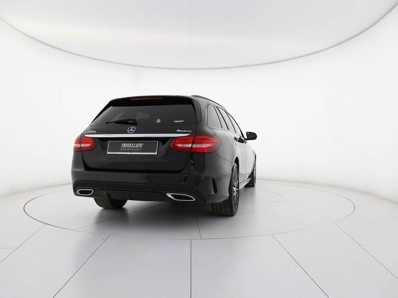 Mercedes Classe C SW sw 250 d premium 4matic auto 9m diesel nero