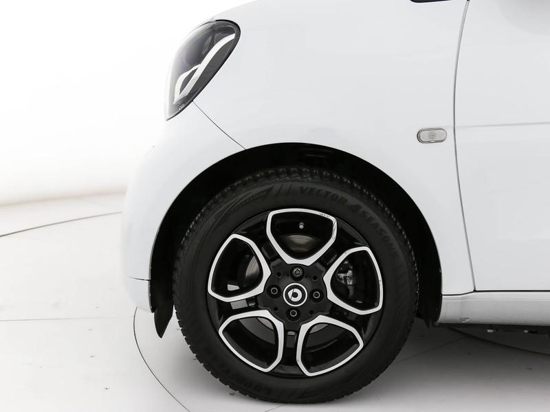 Smart Fortwo Cabrio cabrio 1.0 passion 71cv twinamic my18 benzina bianco