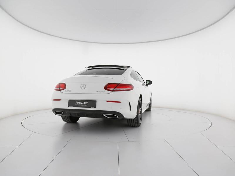 Mercedes Classe C Coupè coupe 250 d premium 4matic auto diesel bianco