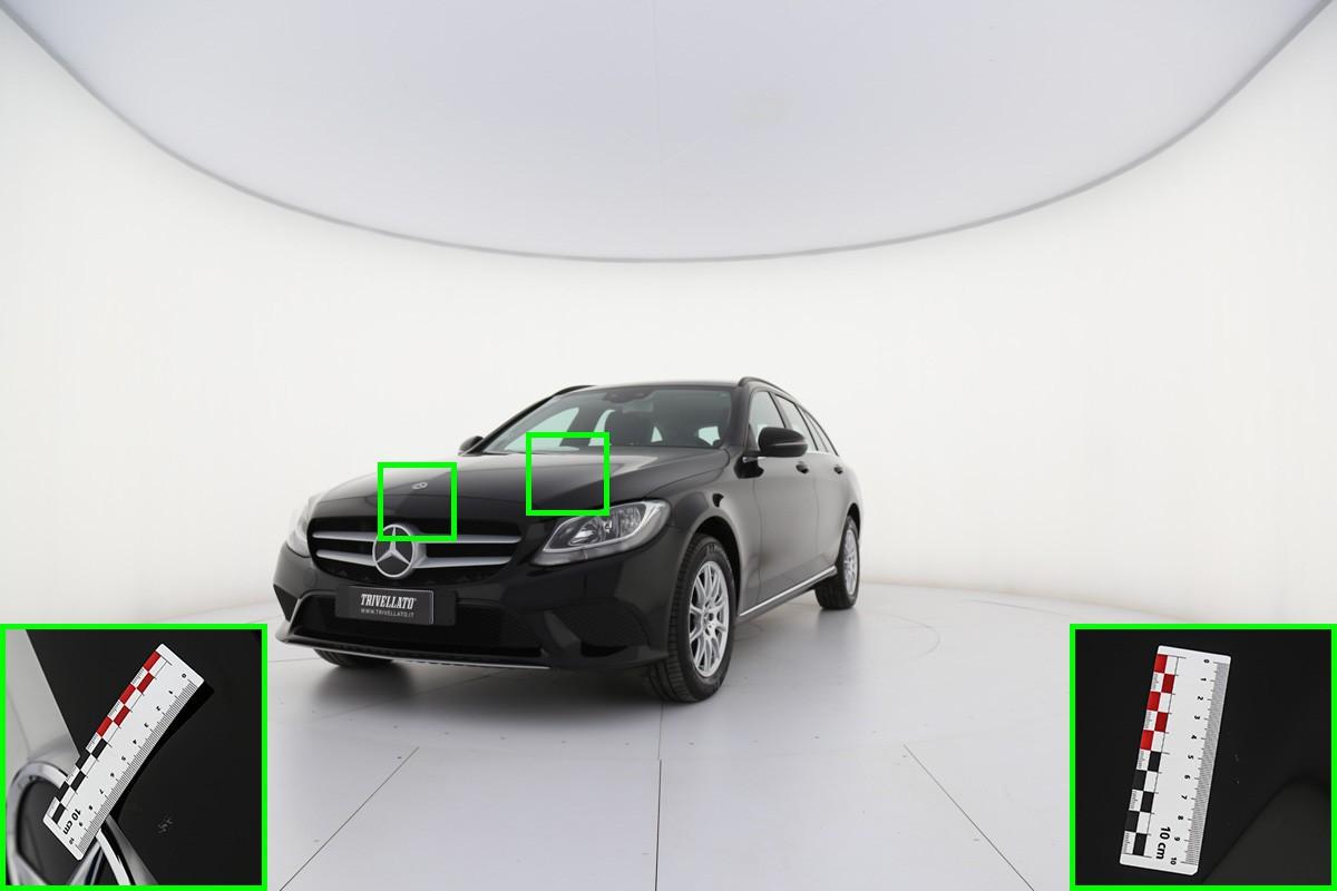 Mercedes Classe C SW sw 200 d business auto